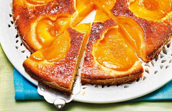 Marillen-Marzipan-Kuchen