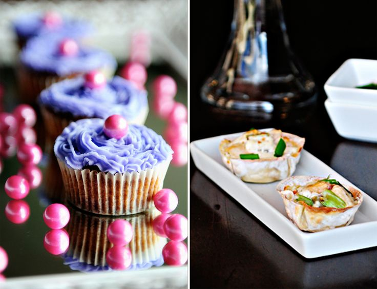 Fabulous sweet and savory treats made with the Babycakes Cupcake Maker from @dineanddish