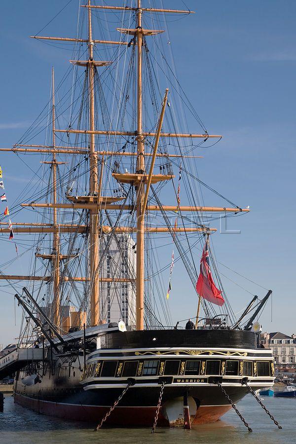 HMS Warrior's Stern.