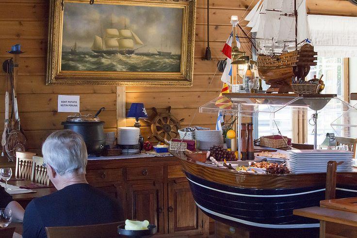 På Kroken, Inside the restaurant #visitsouthcoastfinland #hanko #Finland #påkroken #food #restaurant #fruit