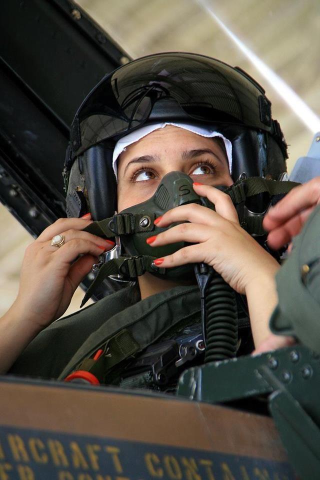 IDF Female Pilot