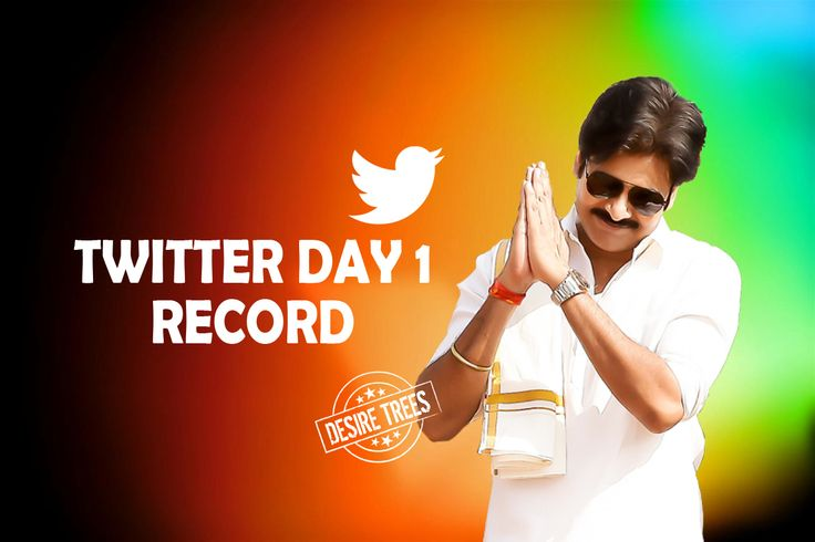 Pawan kalyan First Day Twitter Record Pawan kalyan official twitter account records followers pawan kalyan one day records 1 january new year