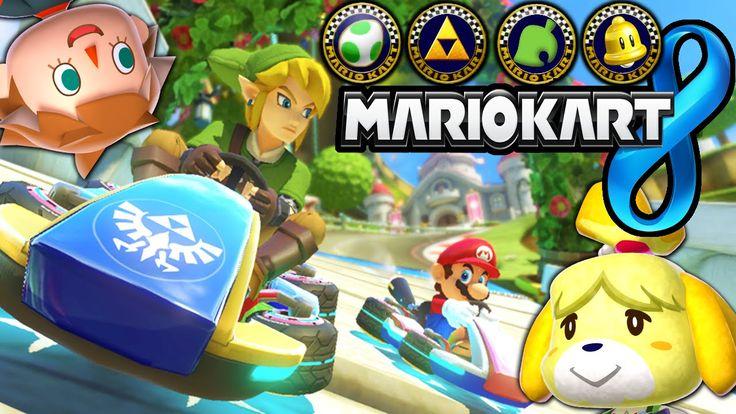 De nouveaux circuits pour Mario Kart 8 (MAJ 2) - http://www.gamerslife.fr/mario-kart-8-nouveaux-circuits/
