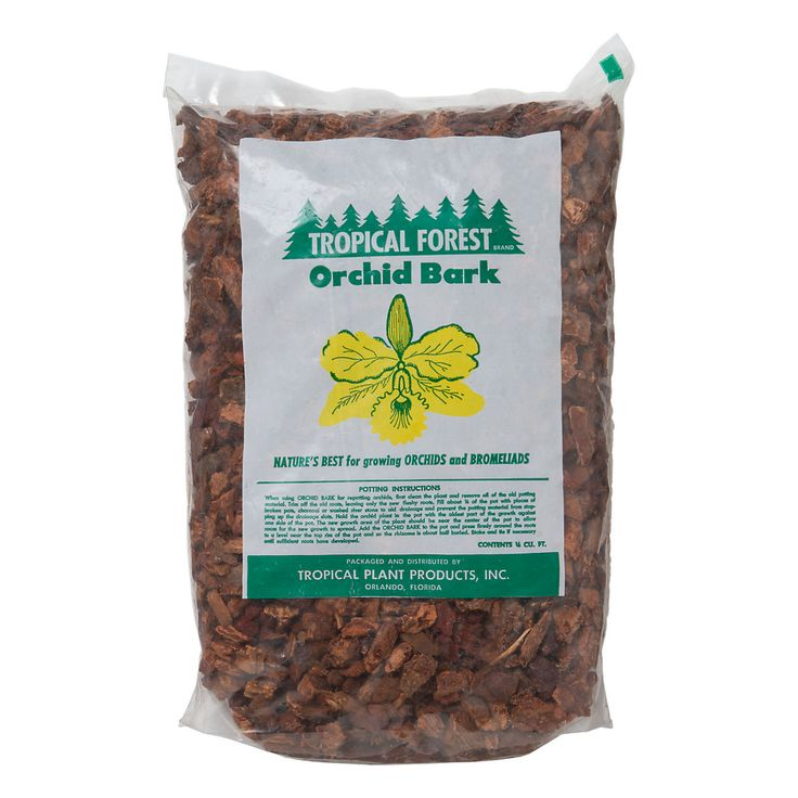 """Tropical Forest Orchid Bark ~ """"Providing much needed humidity and drainage to root systems, this natural bark makes an ideal medium for planting orchids."""""""