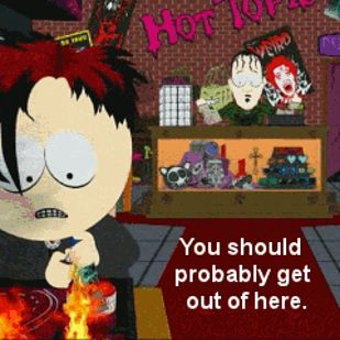 16 Times The South Park Goth Kids Saw Into Your Empty, Black Soul - BuzzFeed Mobile