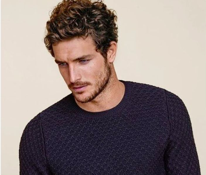 awesome 17 Sexy, Short and Curly Hairstyles for Men #fashion...