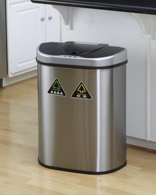 Bezdotykowy kosz do recyklingu