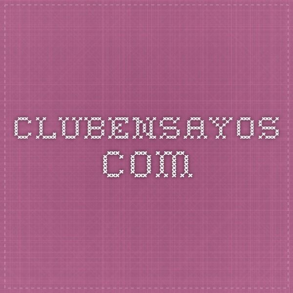 clubensayos.com