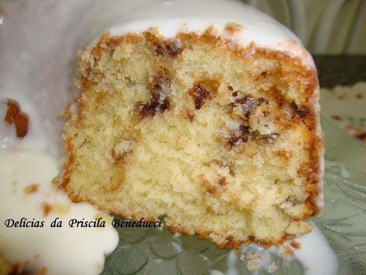 Bolo Americano de Limão e Chocolate    Chef Álvaro Rodrigues   The Best Recipe  Americanos tem tradição, costume em comer e fazer...