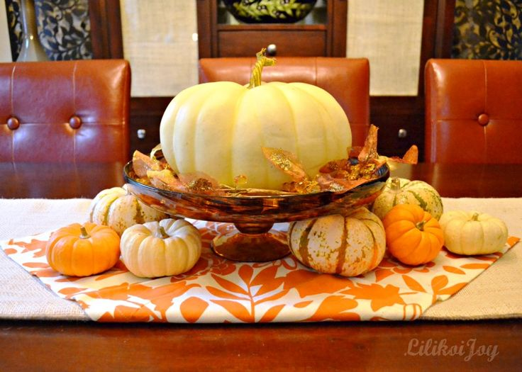 Best 25 Fall Dining Table Ideas On Pinterest