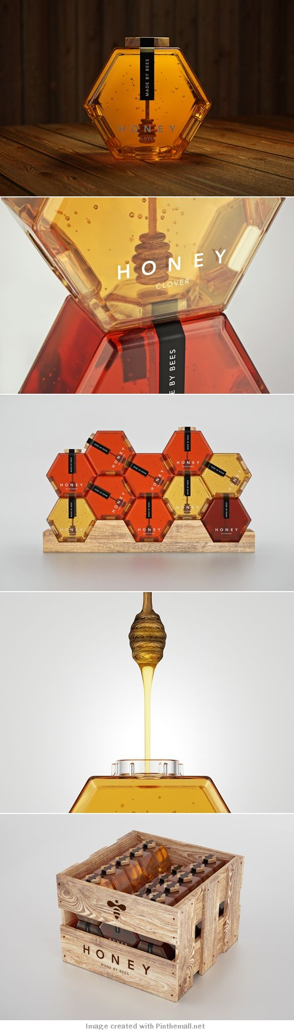 made by bees. beautiful PD #packaging #design