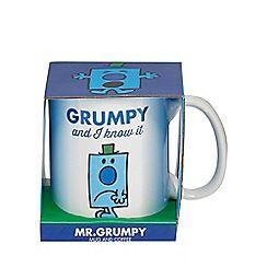 Stocking Fillers - Mr. Grumpy mug and coffee set