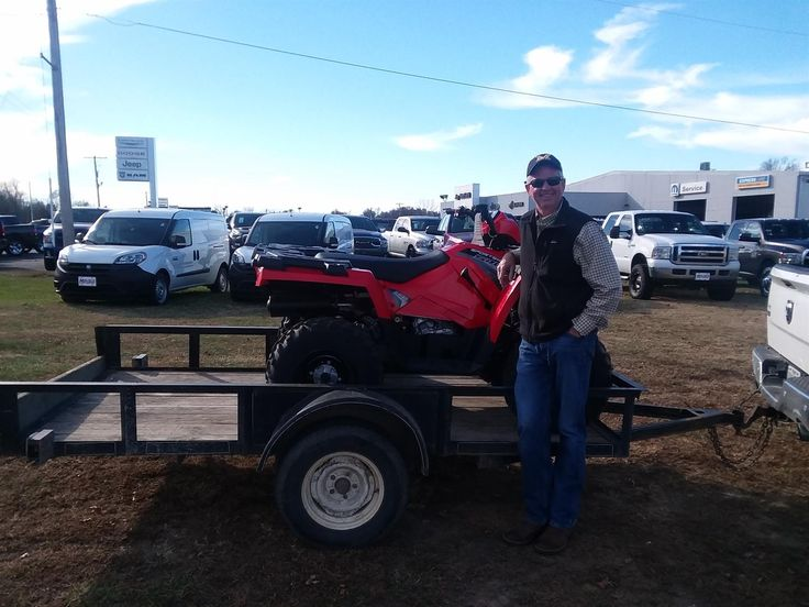 Congratulations and Best Wishes Jeff on the purchase of your 2017 Polaris Sportsman!  We sincerely appreciate your business, Jay Hatfield Motorsports and Matt Wright.