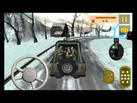 Camión de Guerra del Ejército Conductor Sim 3D Android Gameplay HD
