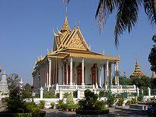 Nom Pen - Pagoda de Plata.