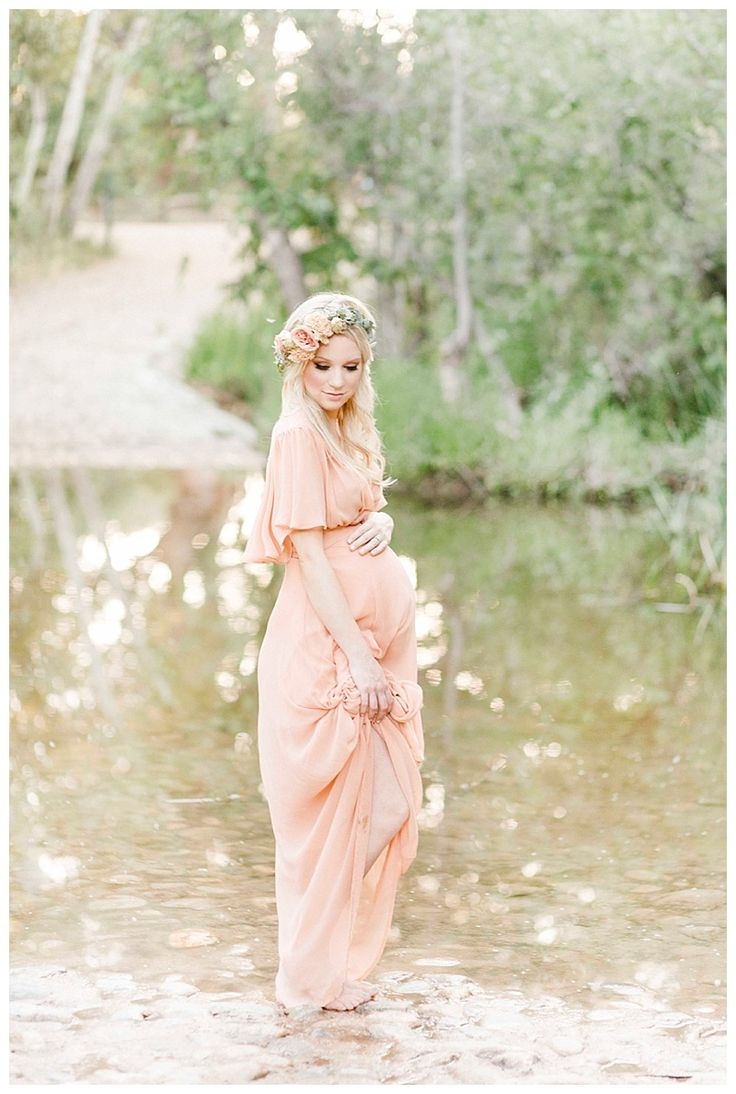romantic outdoor maternity photography by miranda north www.mirandanorth.com