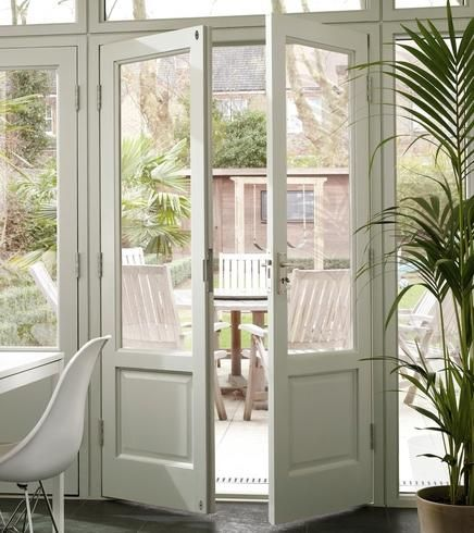 Hemlock 310 e202p double french doors doors for Double opening french patio doors