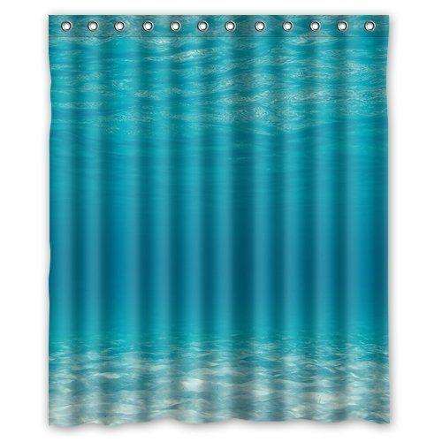 New Design Of Ocean themed Shower Curtain - Best Home Design Ideas ...