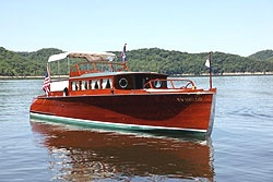 Antique wooden boats