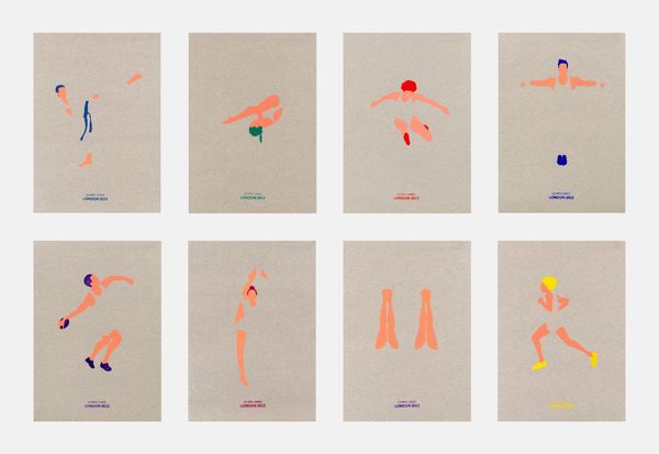 OLYMPIC GAMES 2012 by Valentina Ascione, via Behance