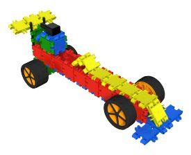 Bouw je eigen race auto met Clics
