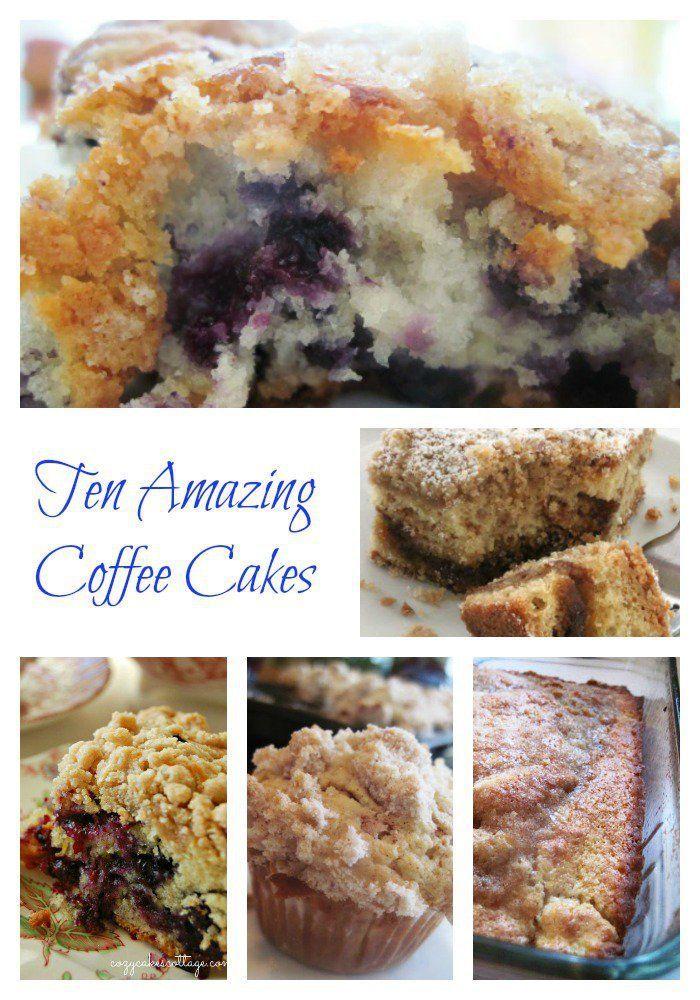Ten Amazing Coffee Cakes