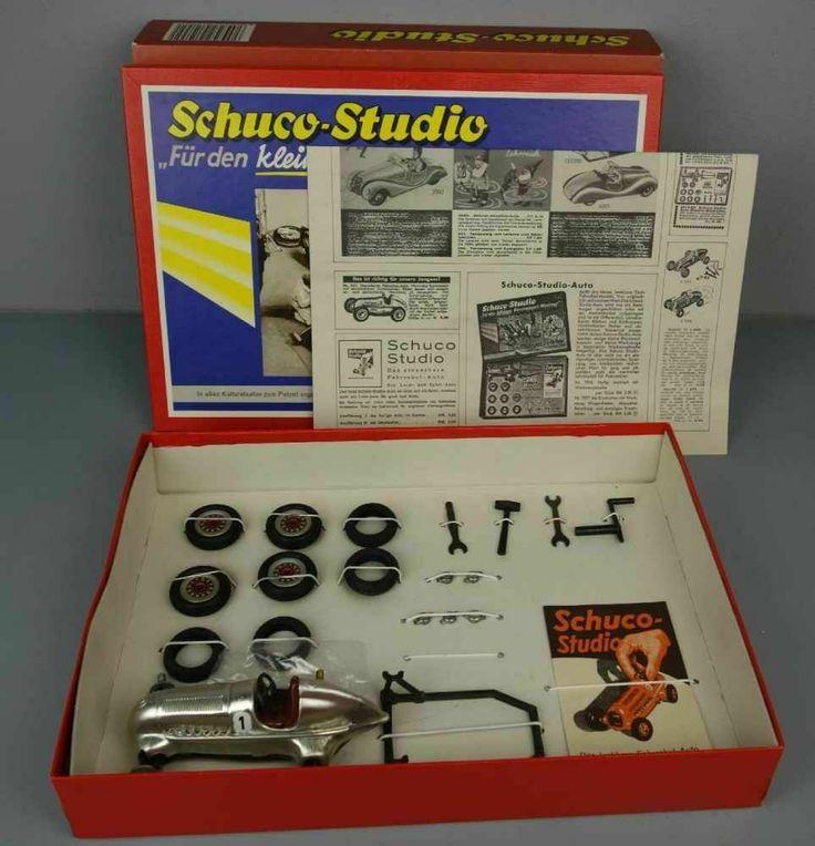 Schuco 1050 Studio Montagekasten Silberfarbener