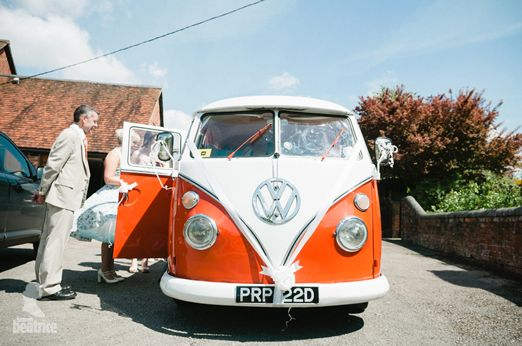 Orange VW Campervan – photography http://www.photography.hannahbeatrice.co.uk/