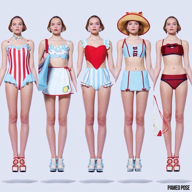 この18個の水着の中でどれが一番いいですかね?の画像4。[ファッション,友達]。