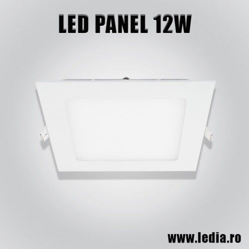 panel LED panel led patrat 12w 175x175mm