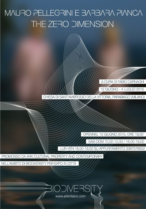 Mauro Pellegrini e Barbara Pianca The zero dimension - Biodiversity graphic by Devis Venturelli