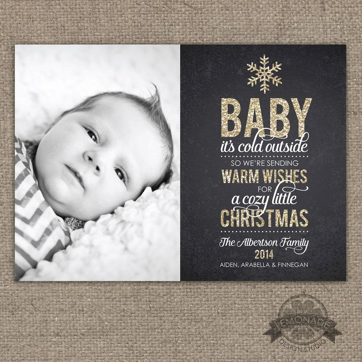 25 Trending Baby's First Christmas Card Ideas On Pinterest