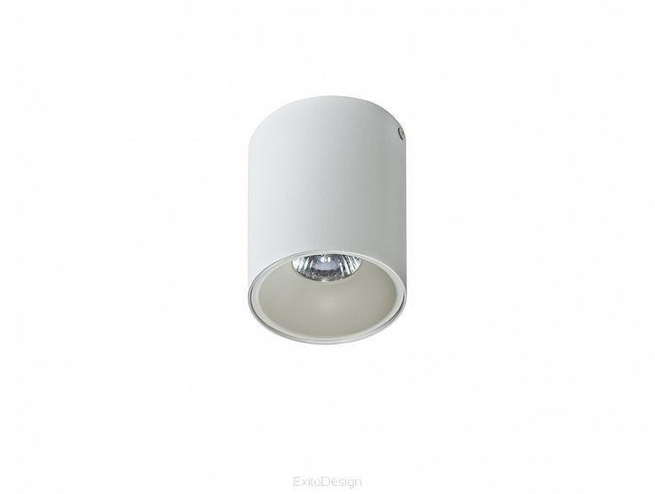 Lampa REMO 1 WHITE by AZzardo - Nowoczesne akcesoria domowe - ExitoDesign