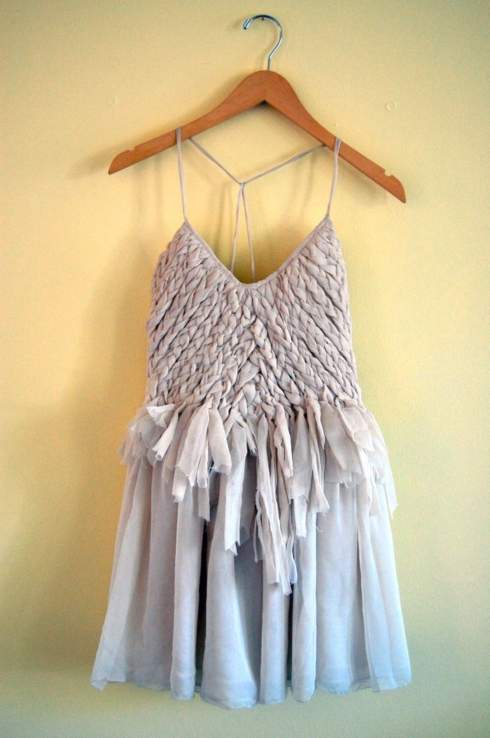 Ruffles & Braids   Ninth and BirdSummer Dresses, Fashion, Style, Parties Dresses, Clothing, Bridesmaid Dresses, Braids Dresses, Grey Dresses, Boho Dress