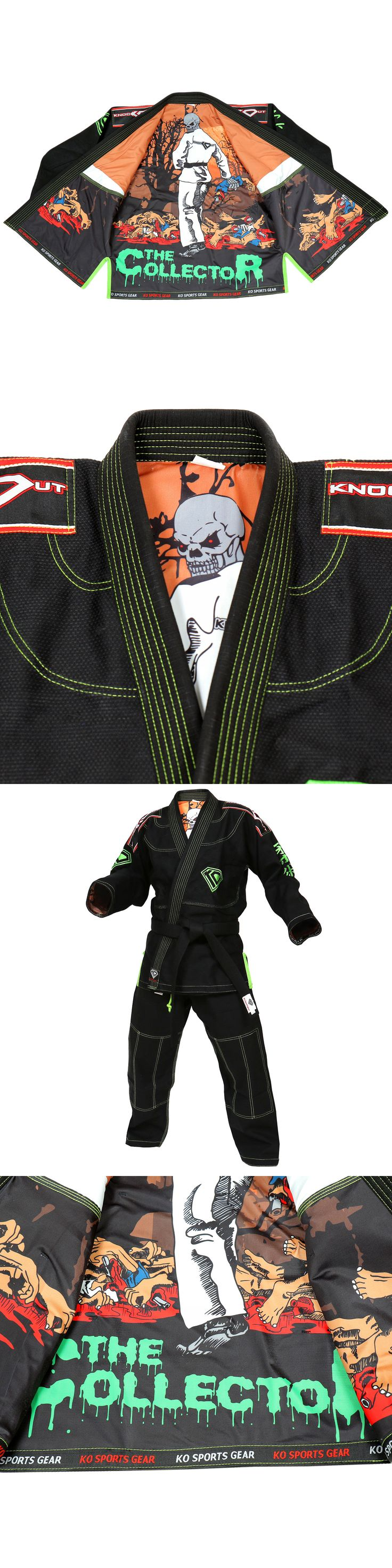 Other Combat Sport Supplies 16044: Ko Sports Gears Black Collector Gi - Bjj Kimono And Pants - Pearl Weave -> BUY IT NOW ONLY: $129.99 on eBay!