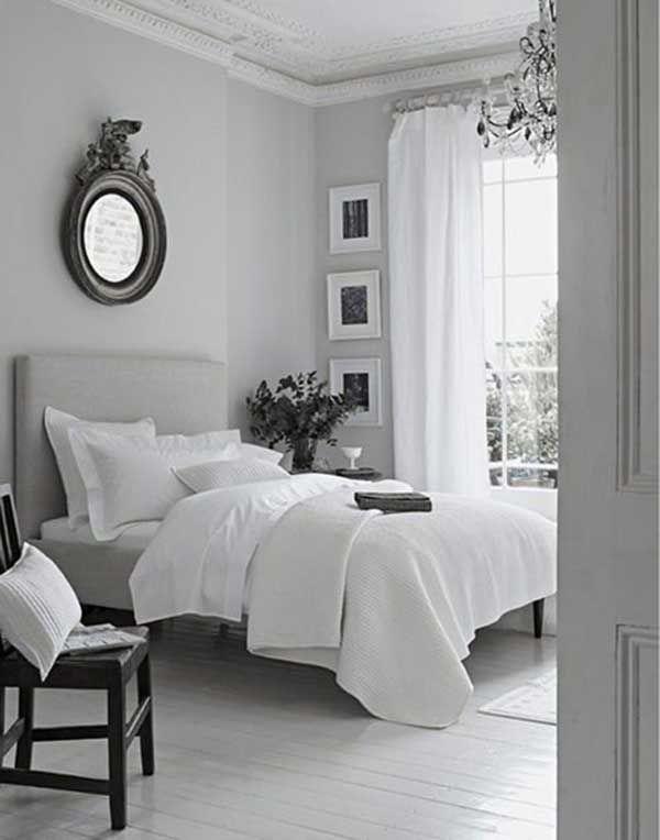 Fotos e ideas para pintar una habitación gris. | Mil Ideas de Decoración