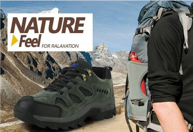 New 2014 Men's Warm Hiking Shoes High Help Outdoor Trekking Shoes Non-slip Waterproof Fishing Hiking Boots Size EU36-44 - http://www.aliexpress.com/item/New-2014-Men-s-Warm-Hiking-Shoes-High-Help-Outdoor-Trekking-Shoes-Non-slip-Waterproof-Fishing-Hiking-Boots-Size-EU36-44/32293188783.html