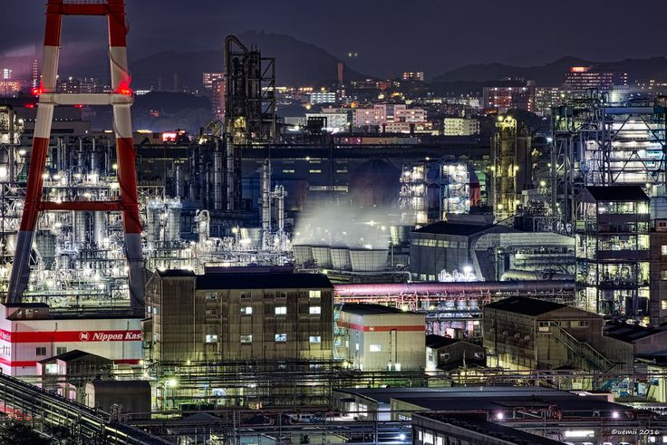 https://flic.kr/p/Ny5H1c | favorite - お気に入り | やっぱりこの場所の景色が、一番のお気に入り。 CANON EOS 7D + TAMRON SP 70-300mm F/4-5.6 Di VC USD #japan #fukuoka #kitakyushu #kurosaki #technoscape
