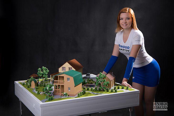 изготовление макетов деревянных домов #макет #макеты #макетная_мастерская #изготовление_макетов #изготовить_макет