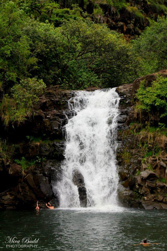 Waimea Falls, Waterfalls Hawaii, Places to Visit in Hawaii, Things to see in Hawaii, Wainea Falls,