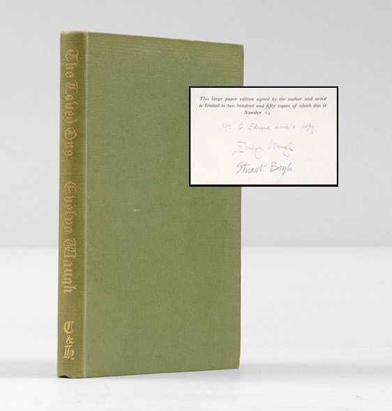 The Loved One. An Anglo-American Tragedy.  Evelyn Waugh. 92085 ILAB 2014