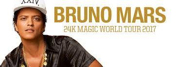 """Stare sul pezzo!: BRUNO MARS IN TOURNEE'  -   """"24K MAGIC WORLD TOUR""""..."""