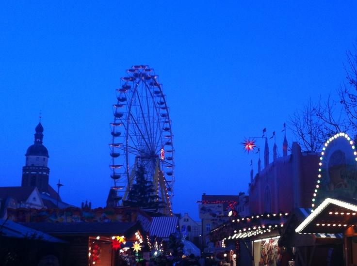 Christmas time in Cottbus! third (Altmarkt, Cottbus - December 2011)