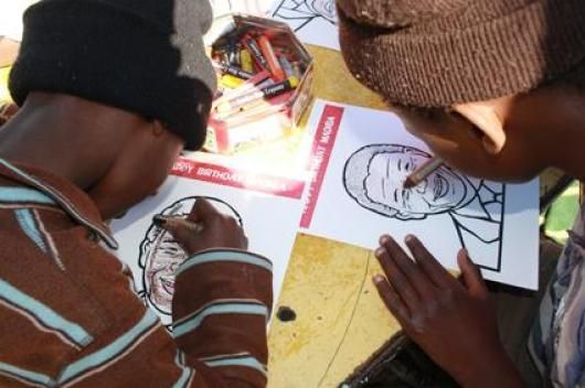 Colouring in | Madiba Day 2012