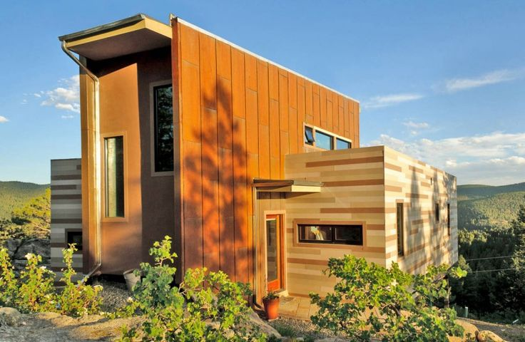 22 Modern Shipping Container Homes Around the World. Colorado-based Studio H:T designed this Shipping Container House in 2010. It is made of 2 40 foot Shipping Containers.  Read more http://www.interiordesign2014.com/interior-design-ideas/22-modern-shipping-container-homes-around-the-world/
