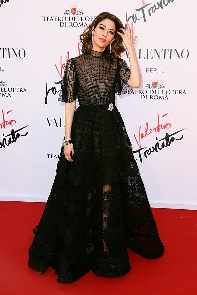 Director Sofia Coppola in Valentino with #Cartier jewels attends the 'La Traviata' Premiere at Teatro Dell'Opera on May 22, 2016 in Rome, Italy