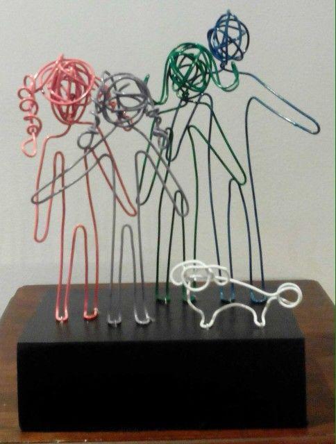 ¡Esculturas Familia!