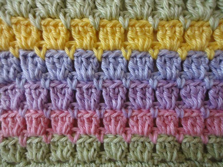 Многоцветный узор Multicolor Crochet pattern