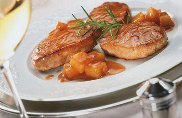 Lomo de cerdo al ananá >>>> http://www.srecepty.es/lomo-de-cerdo-al-anana