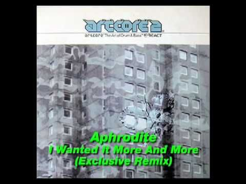 "Aphrodite - I Wanted It More And More (Exclusive Remix) => SOURCE: @Bendrix ""Drum N Bass Music .ME"" Board via."
